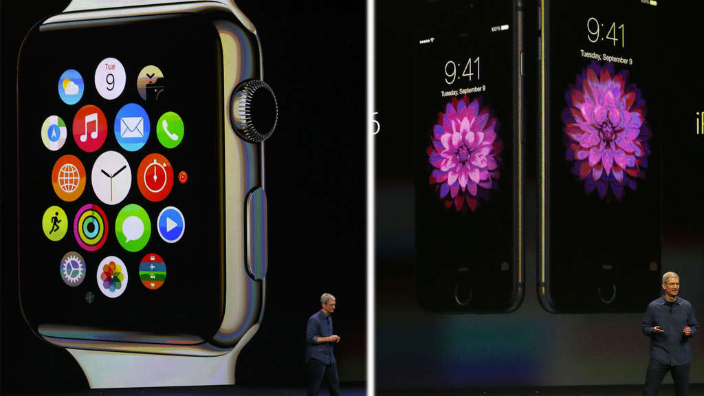 Apple Watch iPhone 6 Plus