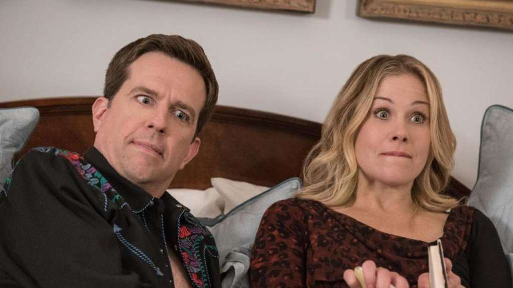 "Ed Helms und Christina Applegate in einer Szene des Films ""Vacation - Wir sind die Griswolds"". Foto: Warner Bros. Entertainment INC and Ratpac-Dune Entertainment LLC"