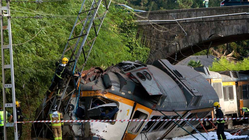 At least two dead in train accident in Spain