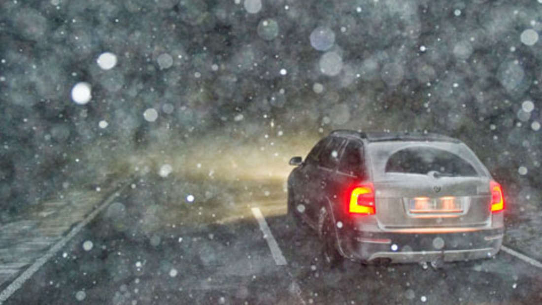 Eis Schnee Auto Winter Vorschriften Bußgeld