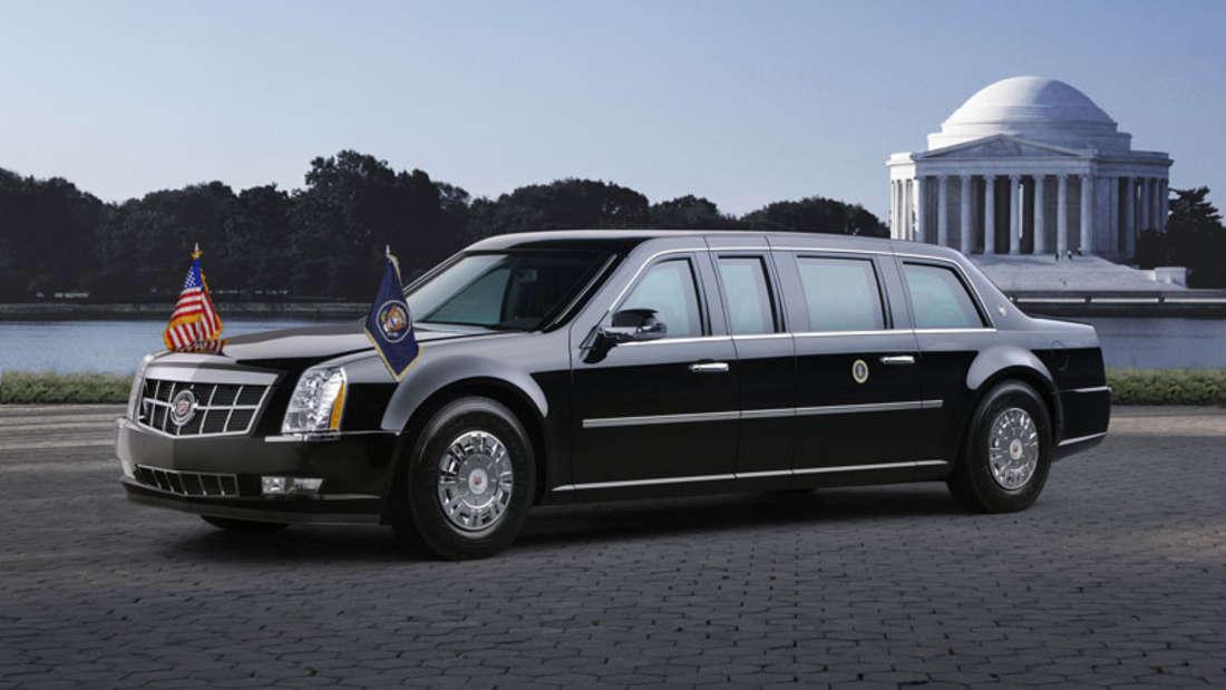 """Cadillac Nummer Oneoder auch""""The Beast"""" (zu dt. Die Bestie)"""
