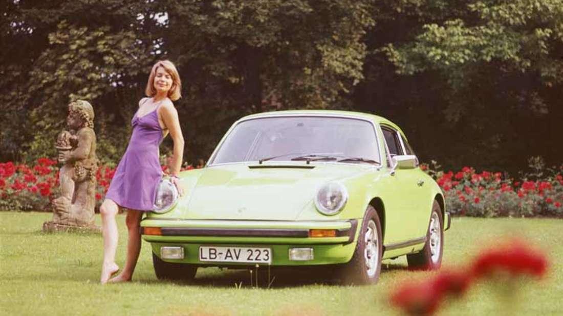 Der Porsche 911 S 2.7 Coupé von 1974.