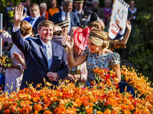 Party für Willem-Alexander: Bilder