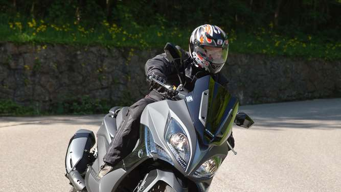 Weniger ist mehr - Kymco Xciting 400i ABS