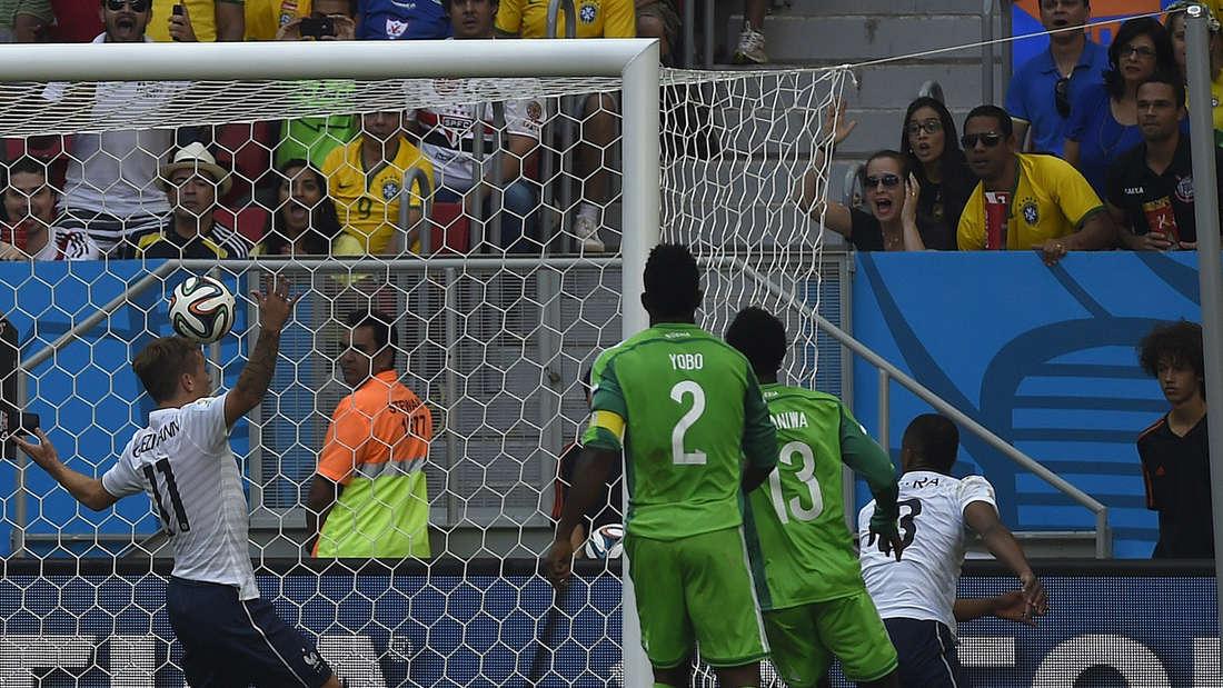 Frankrecih Algerien WM