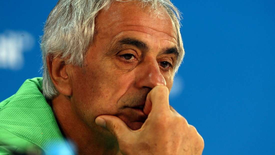 WM 2014: Algeriens Nationaltrainer Vahid Halilhodzic