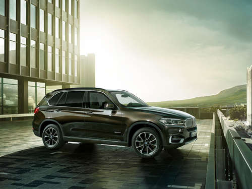 Der neue BMW X5 Security Plus.