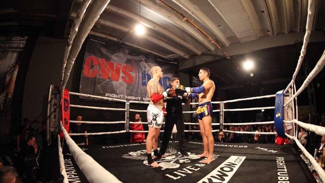 Die Fight Night Mannheim ist in die 8. Runde gegangen. Nichts für Zartbesaitete.
