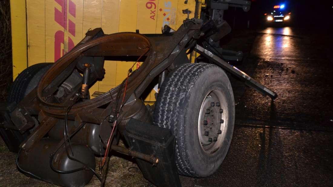 LKW Unfall, Laster Unfall, A6, A659