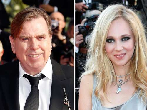 "Timothy Spall mit Juno Temple in ""Away"""