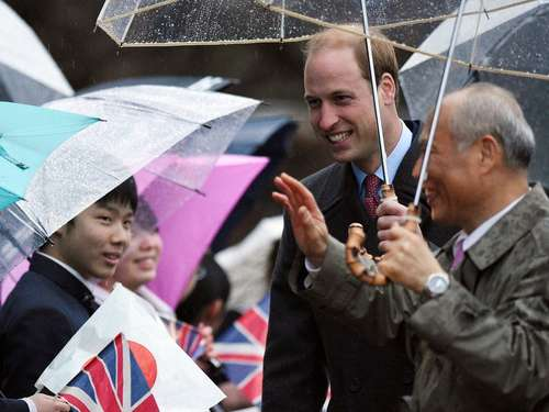 Prinz William zu Besuch in Japan