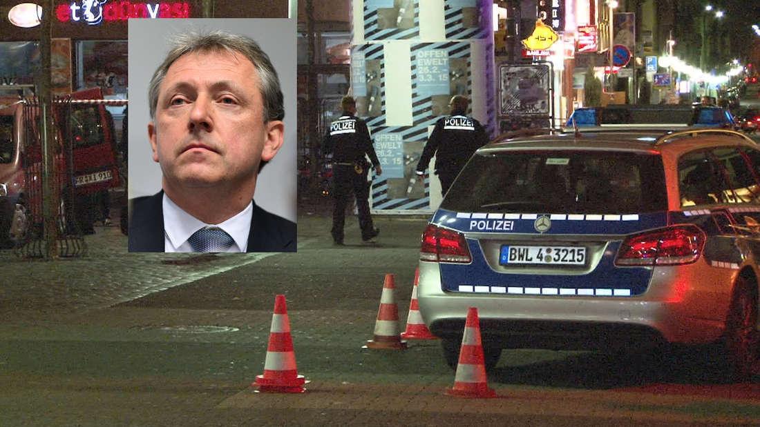 OB Dr. Peter Kurz äußert sich zur Schießerei am Marktplatz.