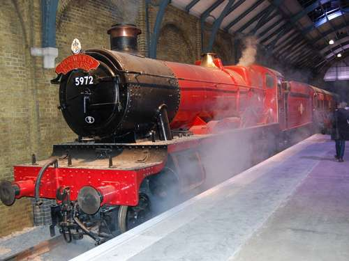 London mit Hogwarts Express