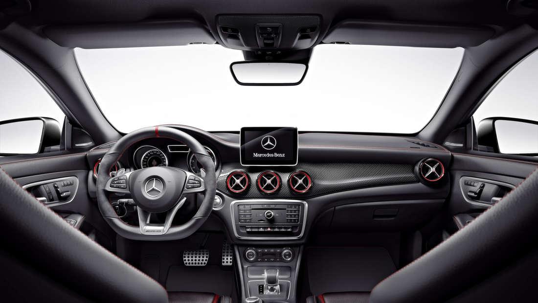 Mercedes CLA Shooting Brake Modell 2015