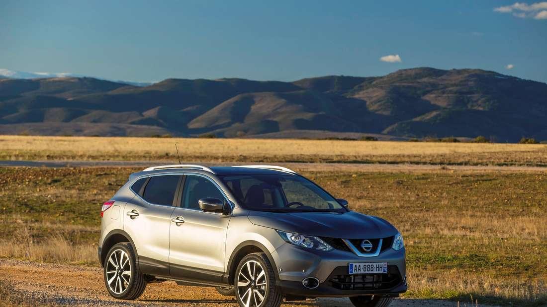 Beliebter Crossover: Der Nissan Qashqai gehört zu den beliebtesten Modellen in Deutschland.