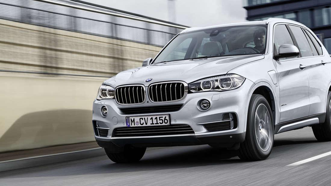 Fotos und Details vom BMW X5 xDrive40e.