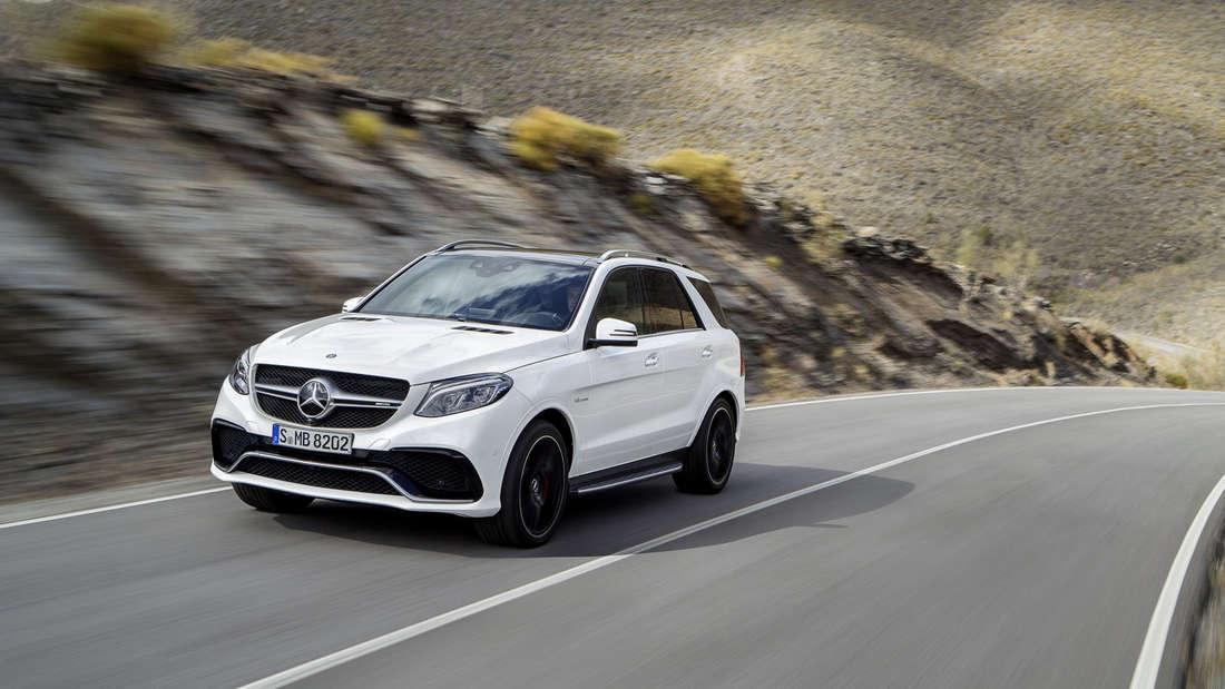 Mercedes GLE SUV-Modell kommt erstmals als Plug-in-Hybrid und heißt dann Mercedes GLE 500 e.