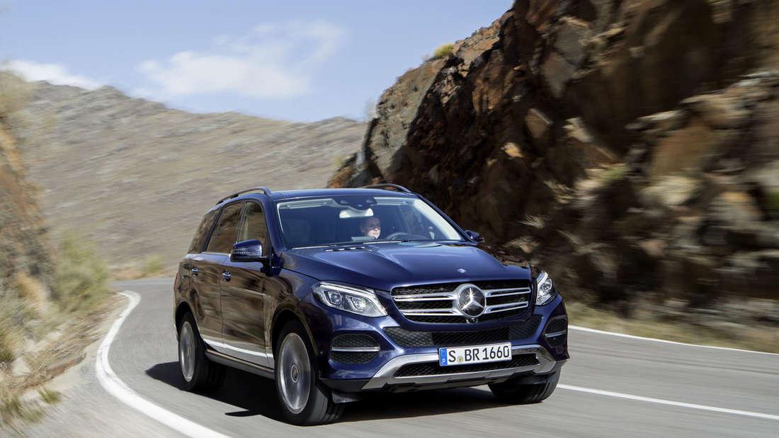 Mercedes-Benz GLE 250 d: Mercedes GLE SUV-Modell kommt erstmals als Plug-in-Hybrid und heißt dann Mercedes GLE 500 e.