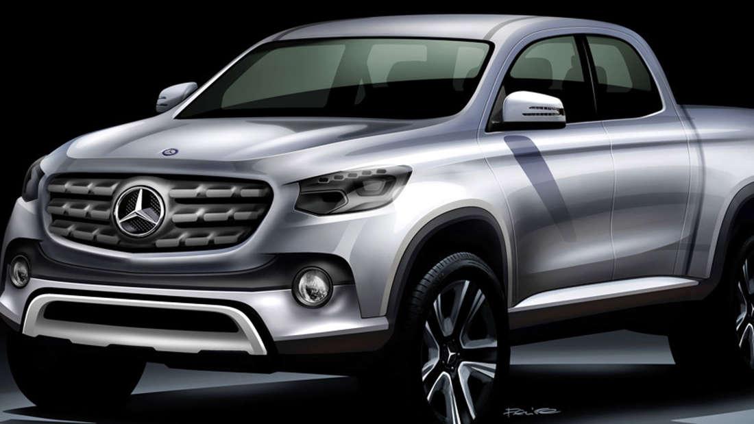 Pick-up Studie von Daimler soll 2020 kommen.
