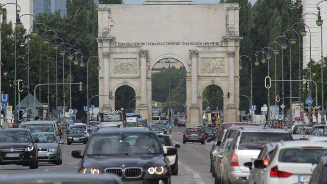 In München steht man am Mittwochabend und Dienstagmorgen am häufigsten im Stau.