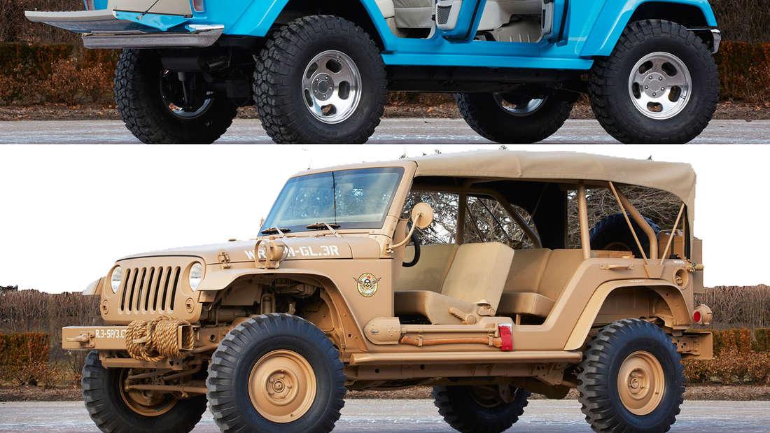 Jeep Showcars für die Easter Jeep Safari 2015