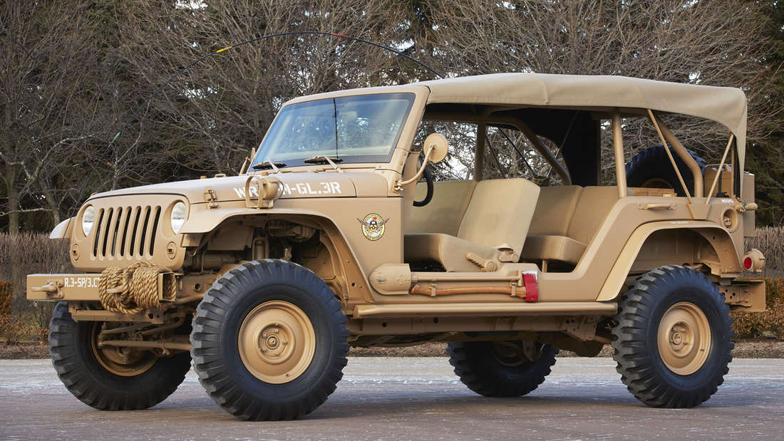 Easter Jeep Safari: Jeep Staff Car Concept.