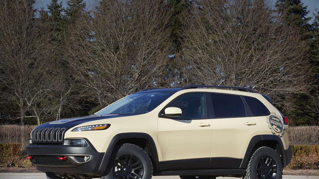 Easter Jeep Safari: Jeep Cherokee Canyon Trail Concept