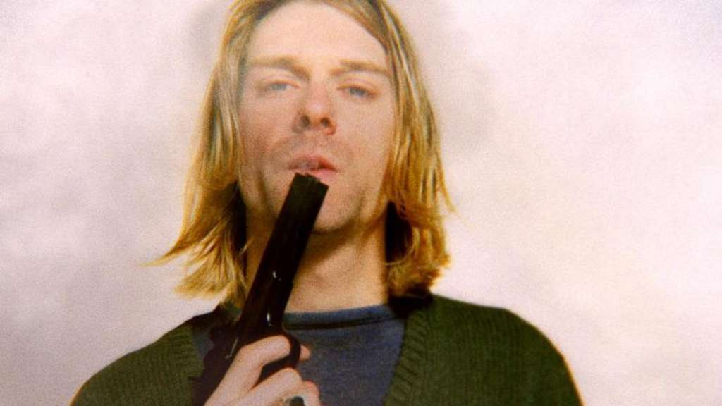 "Kurt Cobain in einer Szene der Dokumentation ""Cobain: Montage of Heck"". Foto: Youri Lenquette/Arts Alliance"