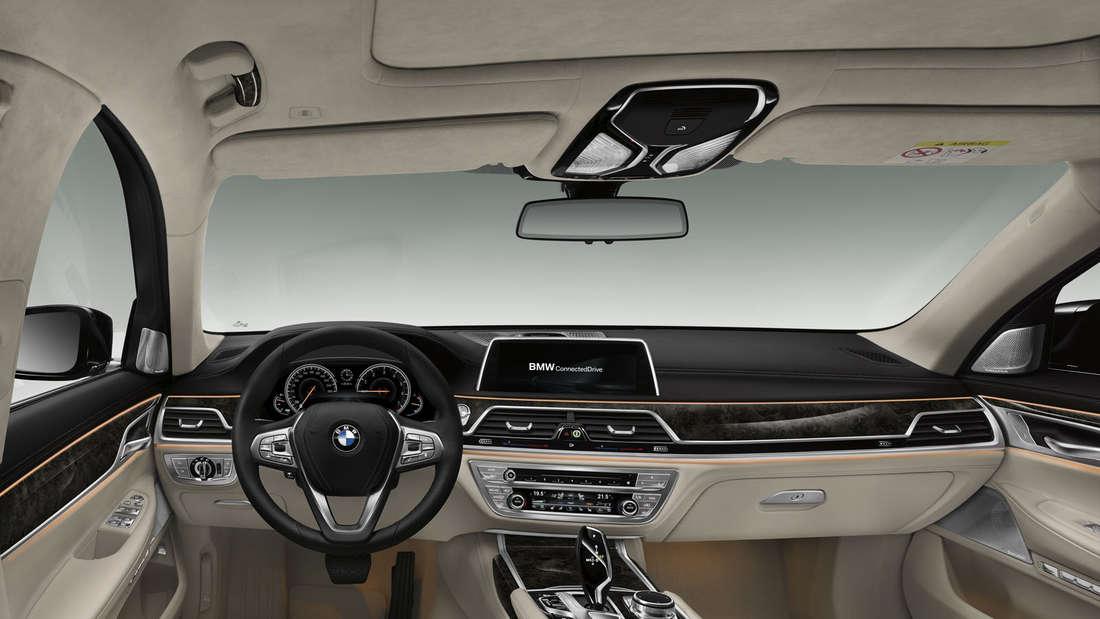 BMW 7er 2015 Innenraum