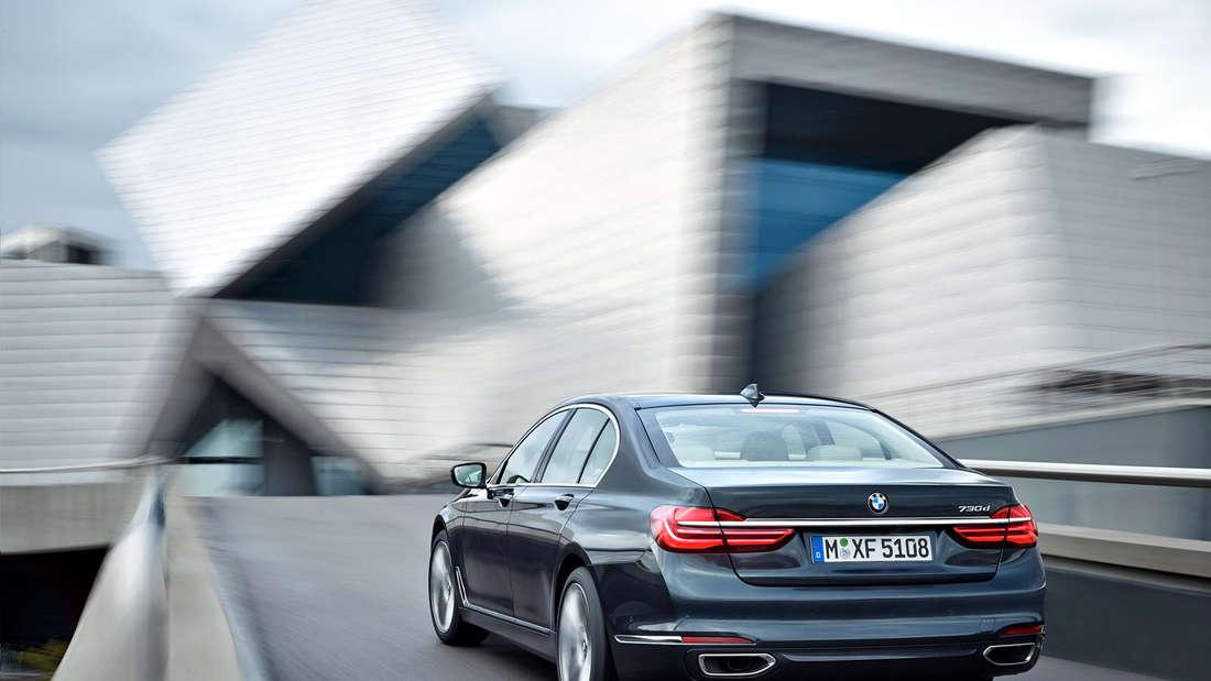 Der neue BMW 7er (2015). Der neue BMW 730d.