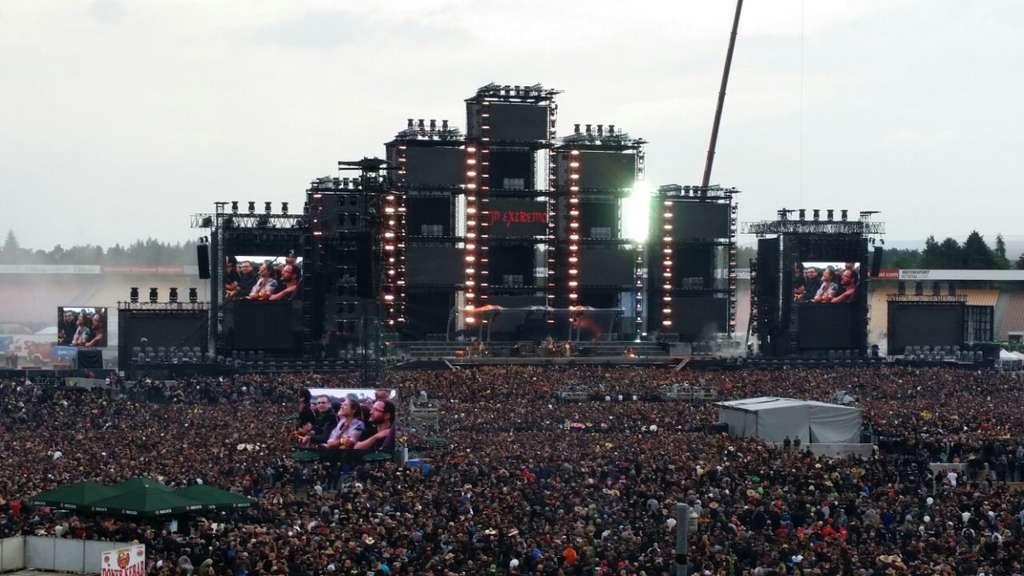 Hockenheim Böhse Onkelz Mega Konzert Vor 100000 Fans Auf