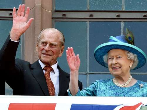 """God Save the Queen"" - Frankfurt feiert die Königin"
