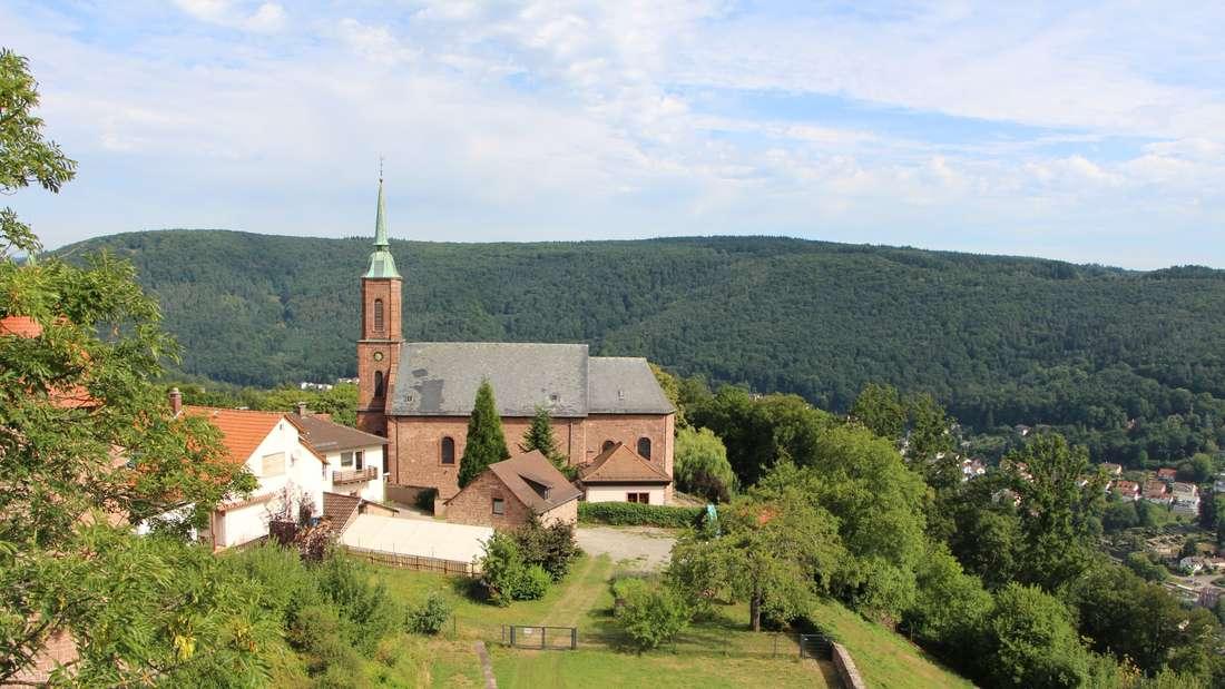 Die katholische Kirche.