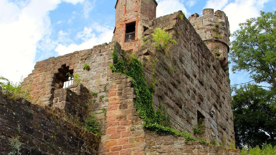 Blick auf die Burganlage.
