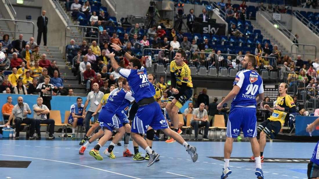 Die Rhein-Neckar Löwen feiern gegen Szeged eine 30:25-Heimsieg.