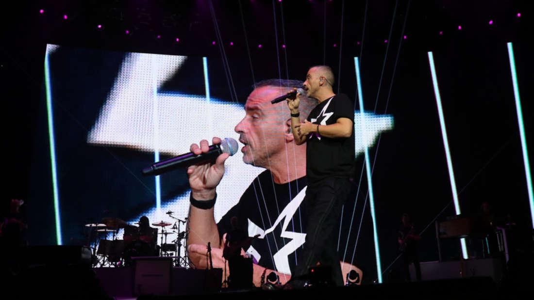 Eros Ramazotti in der Mannheimer SAP Arena.