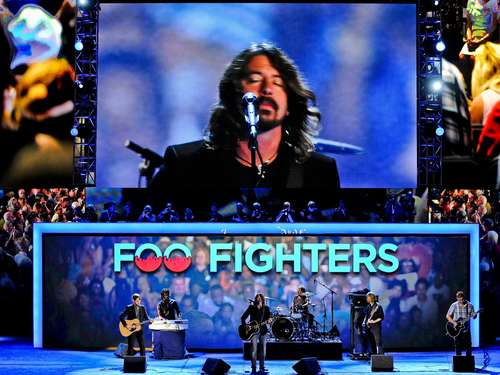 Foo Fighters starten Europa-Tour in Italien