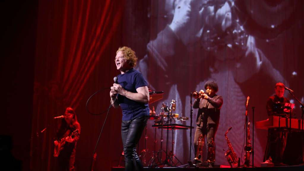 Simply Red machen am Dienstagabend mit ihrer¿Big Love¿-Tour Halt in der Mannheimer SAP Arena.