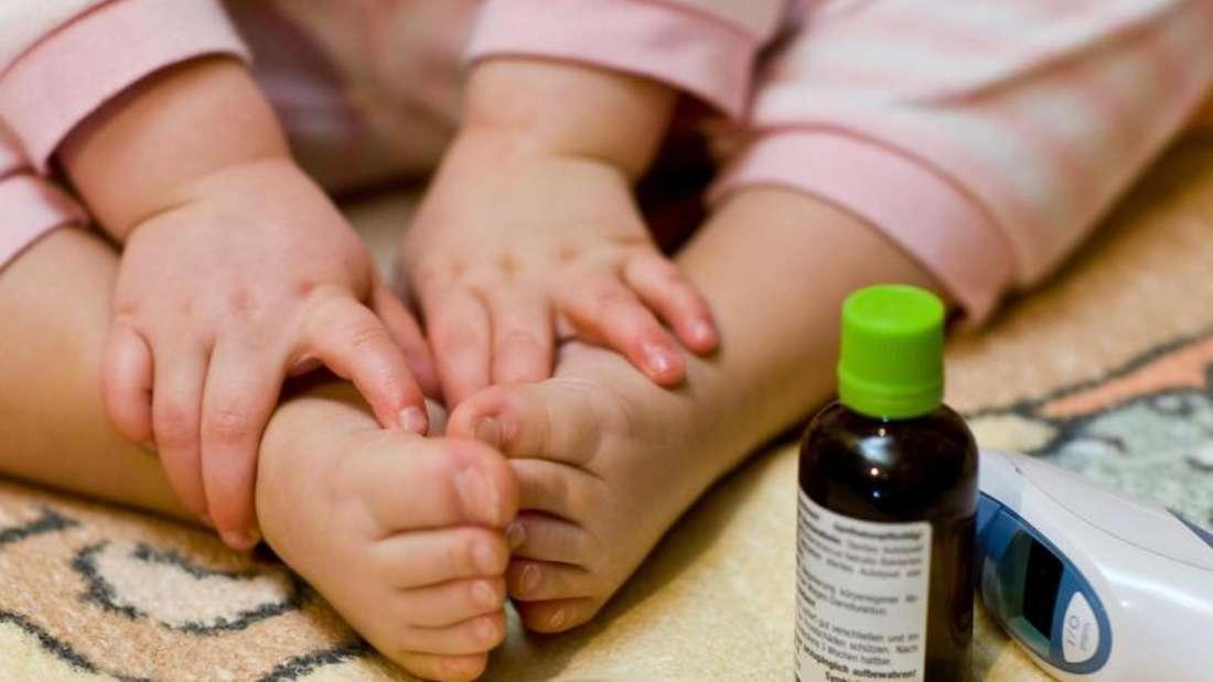 Bettruhe ist angesagt bei Fieber und Appetitlosigkeit.