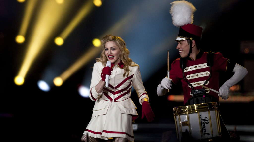 US-Superstar Madonna.