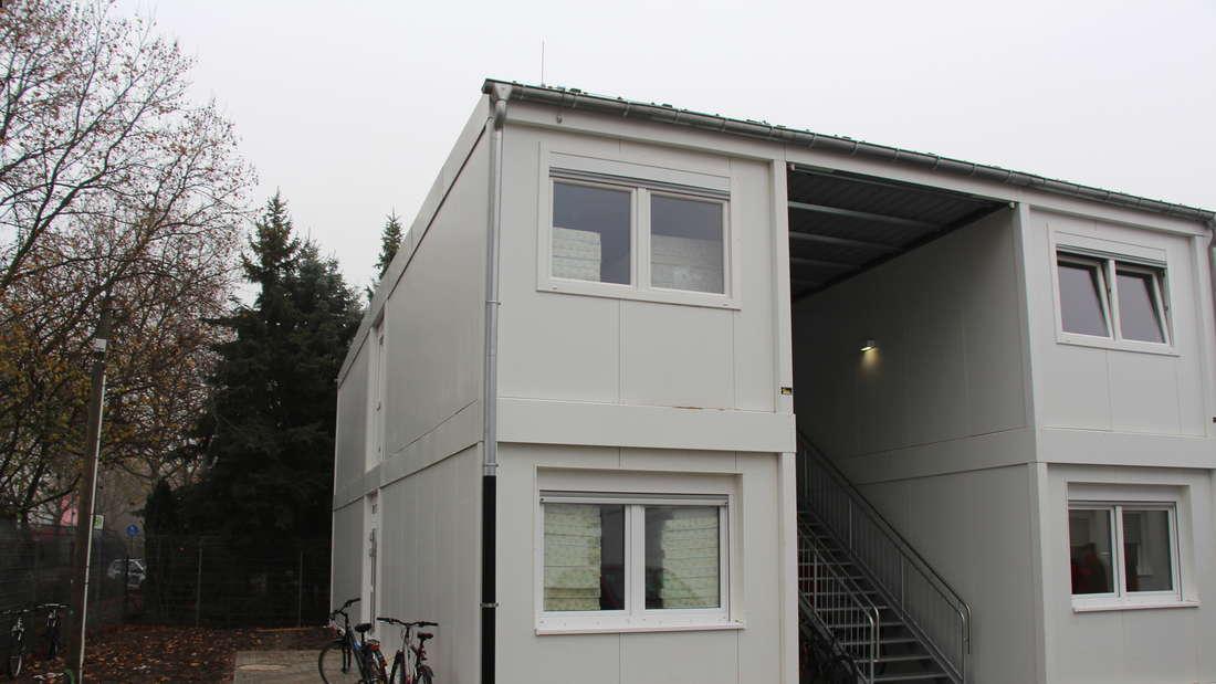 Die Stadt Ludwigshafen errichtet eine Flüchtlingsunterkunft in der Mannheimer Straße.