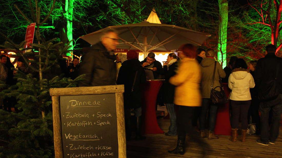 Impressionen von der Schlossweihnacht 2015 im Stückgarten des Heidelberger Schlosses.
