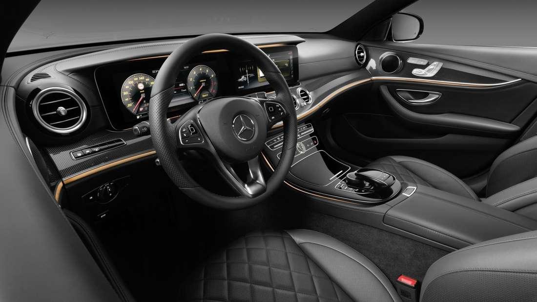 Erste Fotos von der Mercedes E-Klasse (Modell 2016).