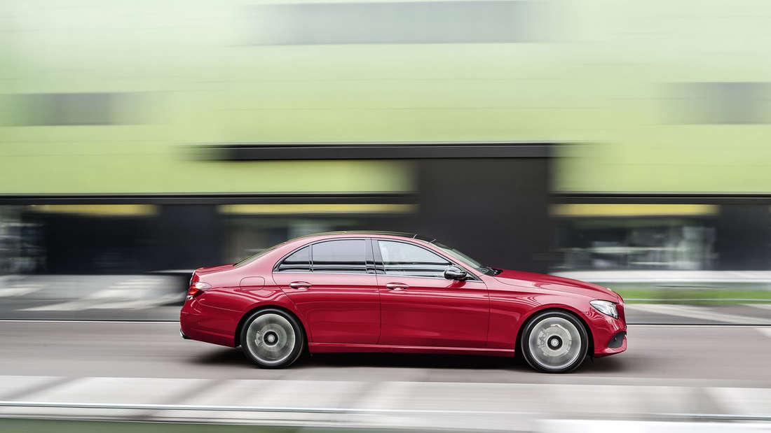 Die neue Mercedes E-Klasse 2016.