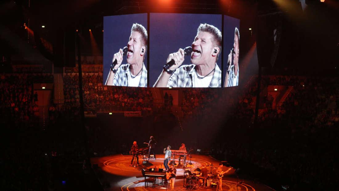 PUR in der Mannheimer SAP Arena.