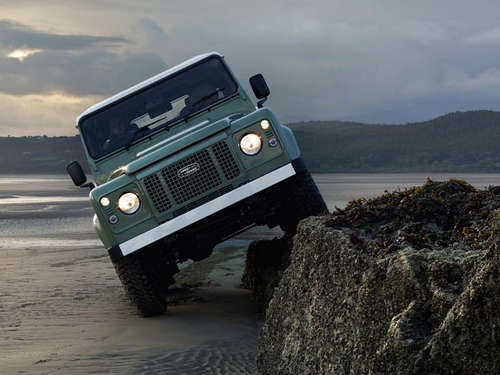 Good Bye! Land Rover Defender