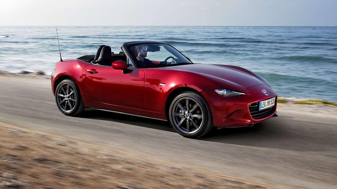 Mazda MX-5 - Euro NCAP Crashtest stellt die sichersten Autos vor.