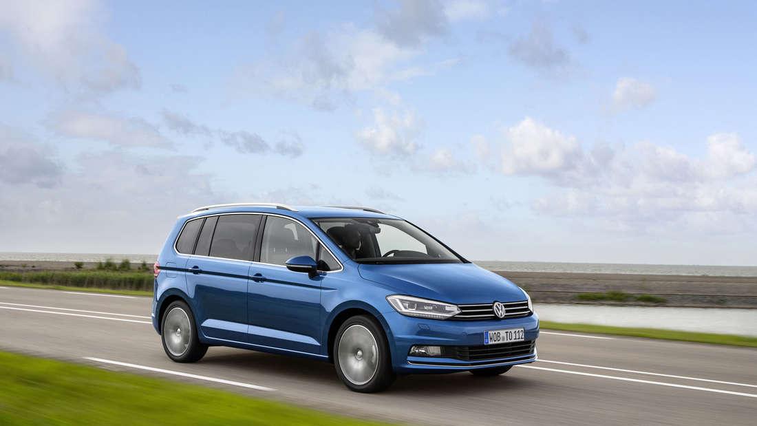 Volkswagen Touran -Euro NCAP Crashtest stellt die sichersten Autos vor.
