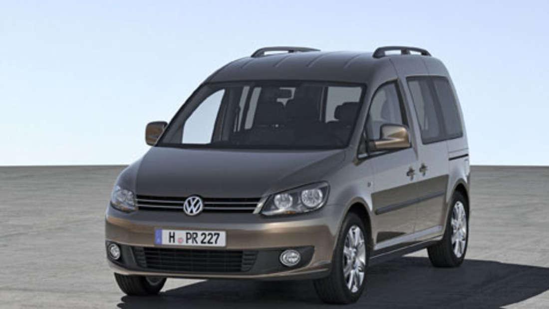 Volkswagen ruft den VW Caddy (Bauzeitraum Mai 2012 bis Januar 2013)in die Werkstatt.