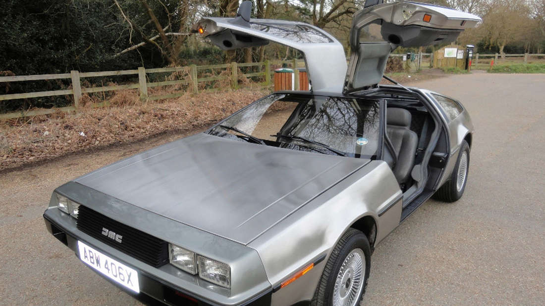 Schillernde Legende: der DeLorean DMC-12 ist ein Kultauto.